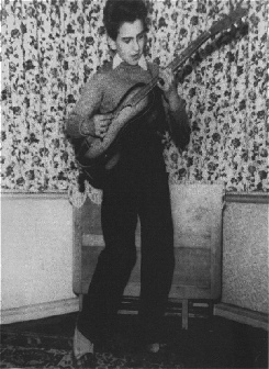 George Harrison before joing The Quarrymen